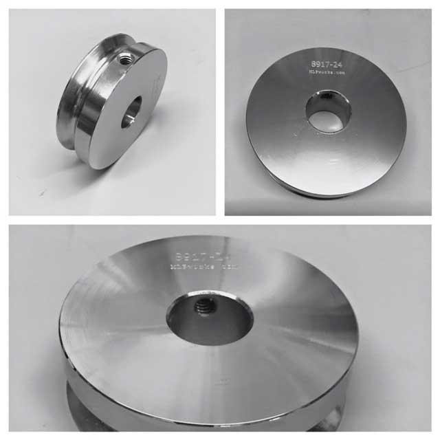Nickel plated steel drive pulley, pulleys_web